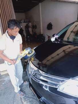 Irwansyah Jasa Salon Mobil Panggilan Medan