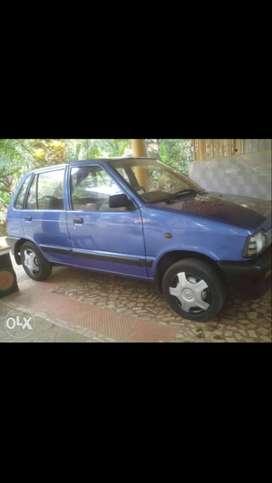 2006 Maruti Suzuki 800 petrol 96000 Kms