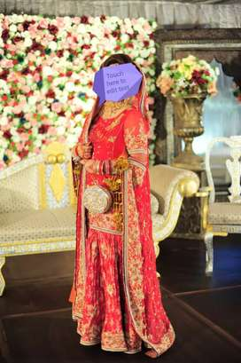 Bridal lehnga for sale on urgent basis