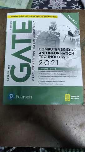GATE CSE 2021 PEARSON BOOKS (2 books)