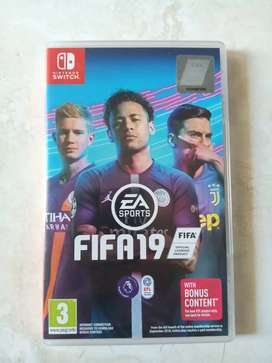 Nintendo Switch Games FIFA19