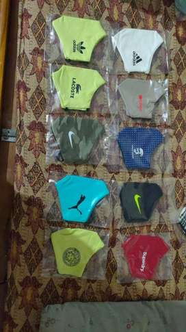 Dry fit face mask . Wholesale price 50/piece