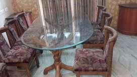 PURE TEAK WOOD dining table