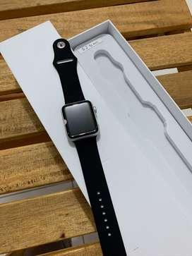 apple watch seri 2 42mm silver