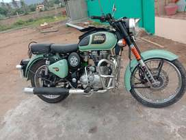 CLASSIC 350 BS3, PETROL, MINT COLOUR