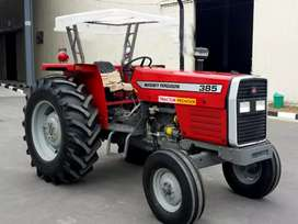 ( 2021 Zero Model) MASSEY Ferguson 385 tractors both easy eqsat py