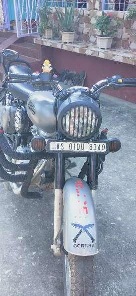 One hand use bike