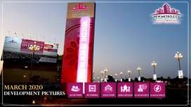 10 Marla Plot  For Sale  In New Metro City On Installments