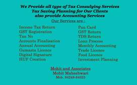 Accounting and Tax consultant