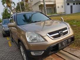 Honda CRV 2.4 Matic Tahun 2004 Kondisi Mulus Siap Pakai Terawat