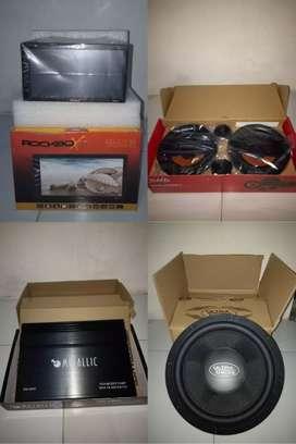 Paket lengkap sound car
