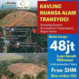 Dijual Tanah Kavling Untuk Asset Cepat Berkembang SHM