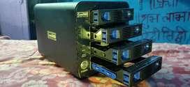 CineRAID CR-H458(4 Hard drive in one box)