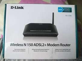 D-Link Wireless N150ADSL2+Modem Router