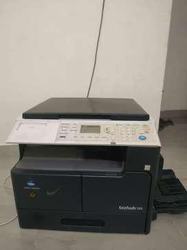 Xerox machine konica minolta
