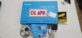 paket cctv hilook by hikvision4kamera pasangdi Mandalawangi Pandeglang