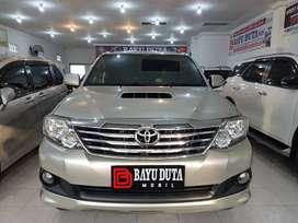 Toyota Fortuner Diesel G matic 2013 pemakaian 2014 kondisi bagus