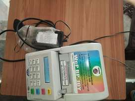 Billing printer mechine and charger with programing free.
