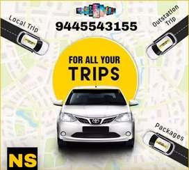 Car rend all over tamilnadu