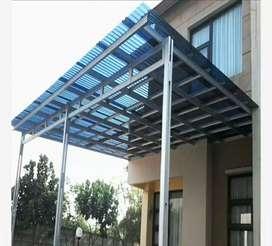 Bengkel las canopy semua jenis