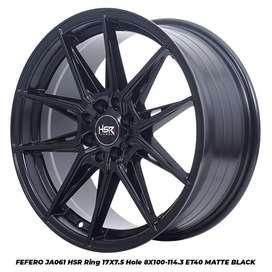 Velg Mobil Isuzu Panther KIA Carens, Pride Ring 17 Type HSR FEFERO