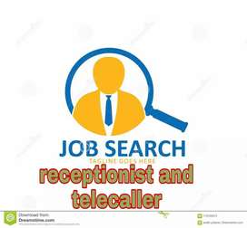 Urgent requirement for Receptionist