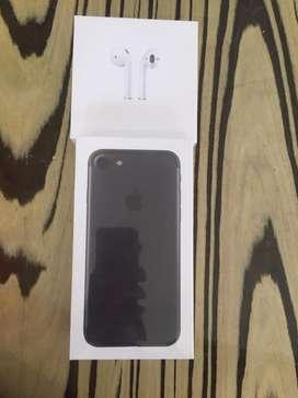 BRAND I PHONE 7 MAT BLACK SEALED PUECE
