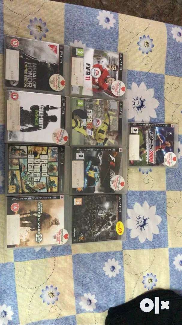Ps3 games for exchange or sell 0