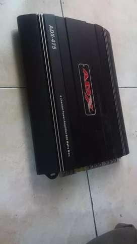 Power audio mobil