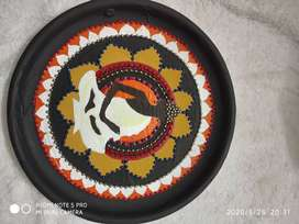 Plate wall decoration mahatma budh