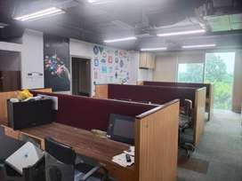 Furnished office available for rent in Rupa solitaire