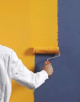 Jasa cat rumah,renovasi,plafon,baja ringan,keramik,tukang bangunan,dll