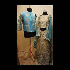 Women and Man dress form