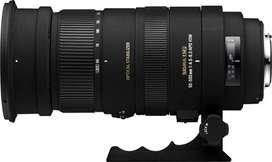 Sigma 50-500 lens for Nikon