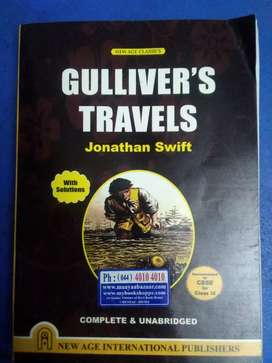 Gulliver's Travels by Jonathan Swift ( Part 1 and 2 included )
