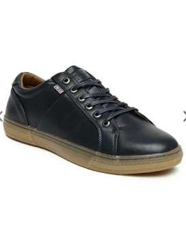Orignal Arrow men navy  solid regular sneaker ( size -8 )