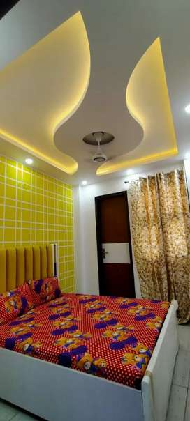 50 sq yards 2 bhk flat with bike parking bank loan upto 90% available