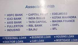 One stop for all your financial needs All loans are available