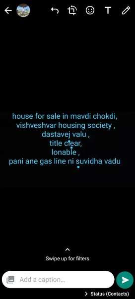 House for sale in mavdi chokdi