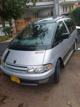 Toyota Estima 4wd auto best for family urgently sale