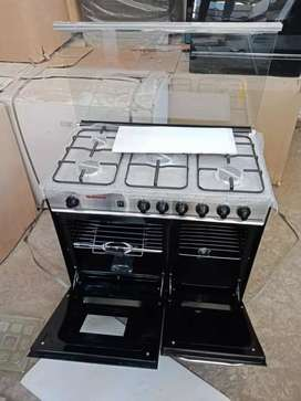 Cooking rang with oven fixd