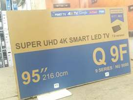 "95"" samsung 4k Led TV new model"