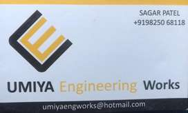Welder and helper for fabrication