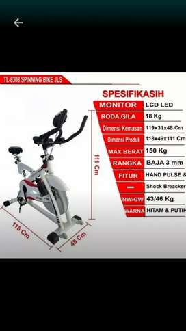 Spinning bike TL sepeda statis besar