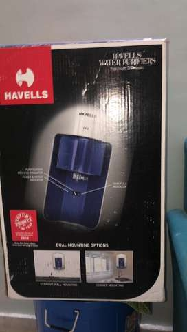 New havells brand water purifeir for sell