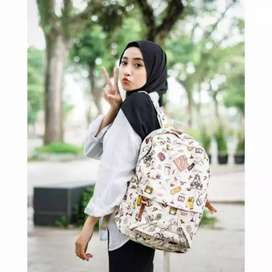 Backpack fashion kanvas