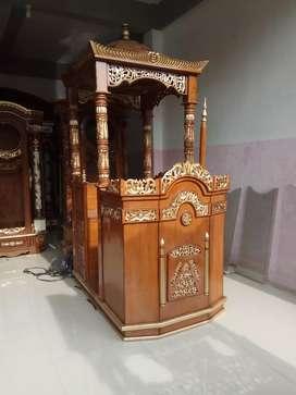Mimbar hijrah mimbar masjid GEDE