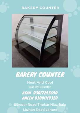 Glass Bakery Display Counter