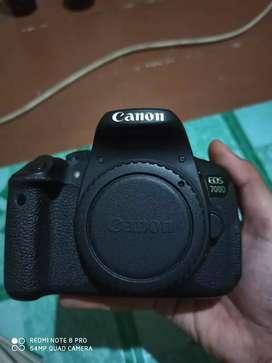 Canon eos 700d fullset