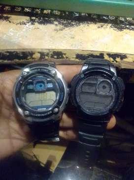 Jam tangan ae-2000w bonus ae-1000 minus